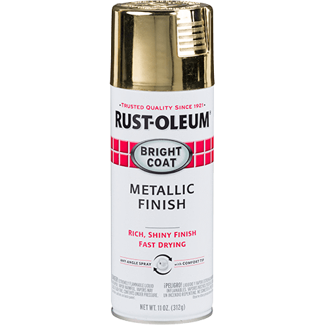 Rustoleum Bright Coat Spray - Metallic Gold