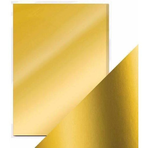 Craft Perfect Mirror Card A4 Pack- Gold Pearl
