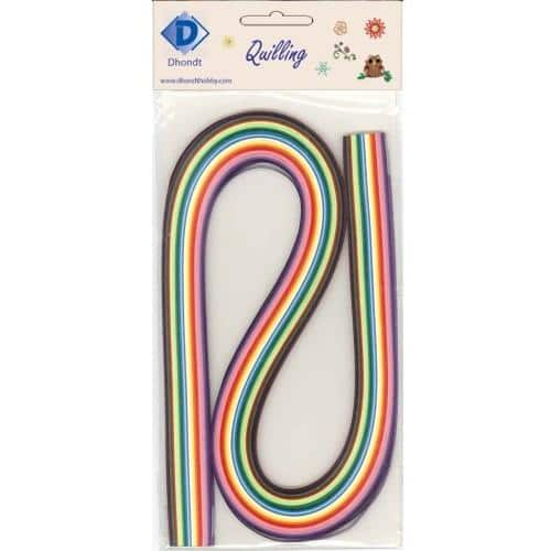 Dhondt Hobby Quilling Strips pack - Multicolor