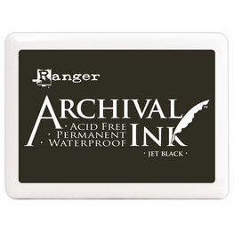 Archival Jumbo Ink Pad - Jet Black