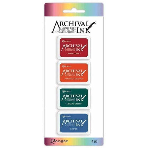Archival Mini Ink Pads Kit 1
