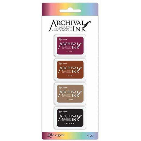 Archival Mini Ink Pads Kit 2