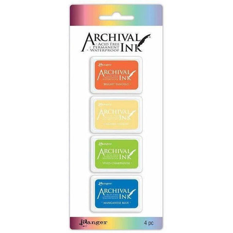 Archival Mini Ink Pads Kit 3