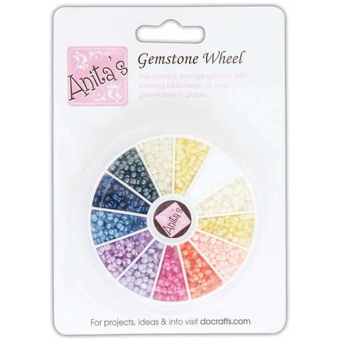 Anita's Gemstone Wheel - Pearl