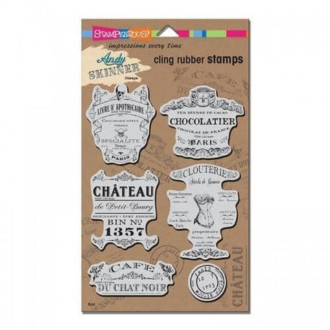 Stampendous Cling Shabby Chic Set