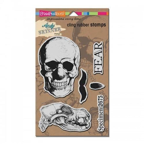 Stampendous Cling Skuldoggery Stamp Set