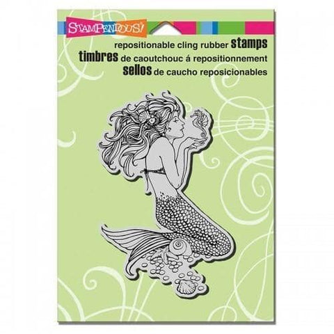 Stampendous Cling Mermaid