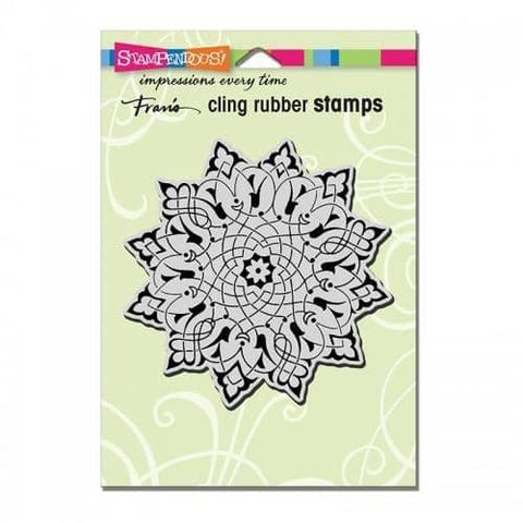 Stampendous Cling Arabesque