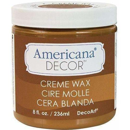 DecoArt Americana Decor Crème Waxes – Golden Brown