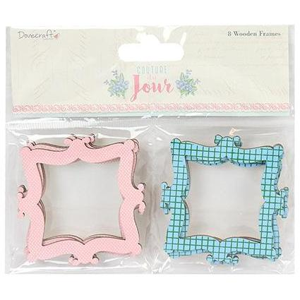 Dovecraft Back to Basics Wooden Frames -  Couture du Jour