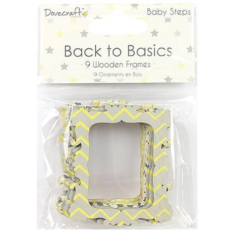 Dovecraft Back to Basics Wooden Frames -  Baby Steps