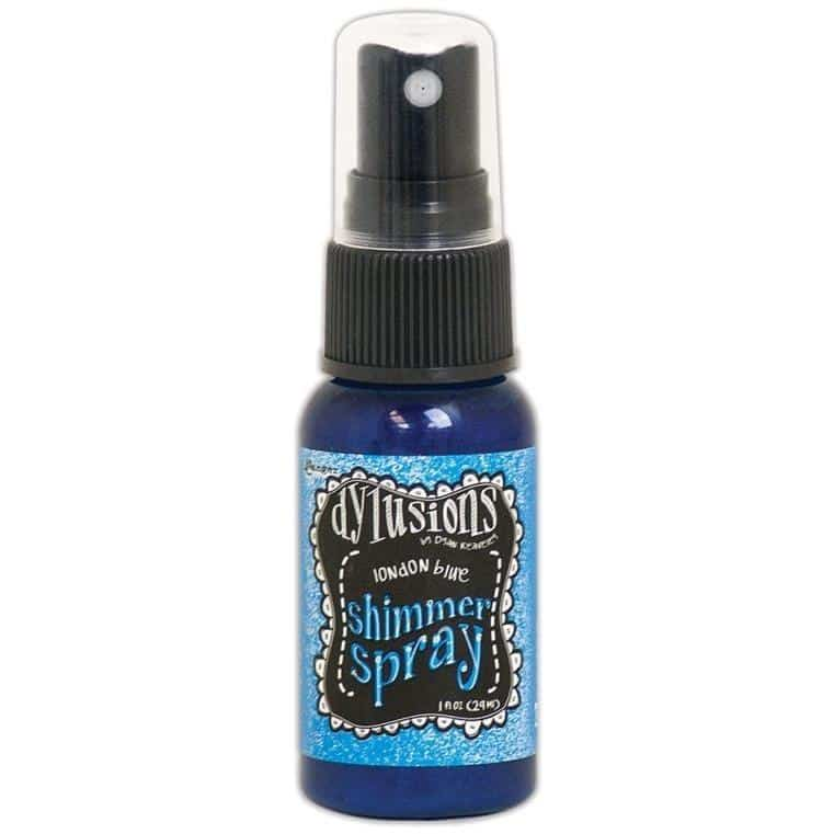 Dylusions Shimmer Sprays - London Blue