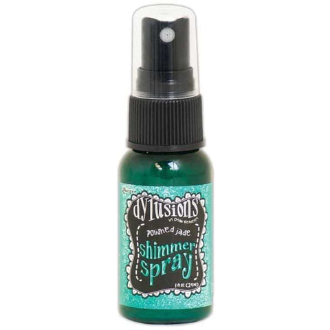 Dylusions Shimmer Sprays - Polished Jade