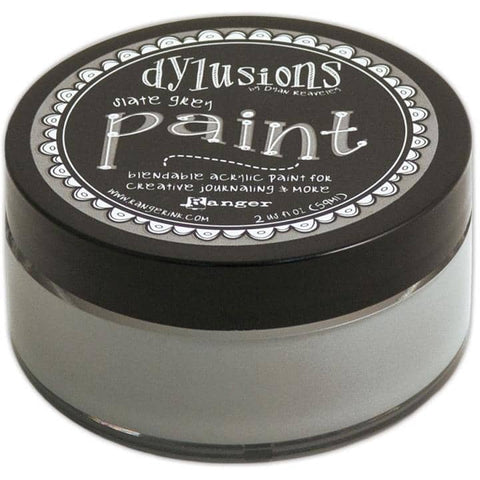 Dylusions Paints - Slate Grey
