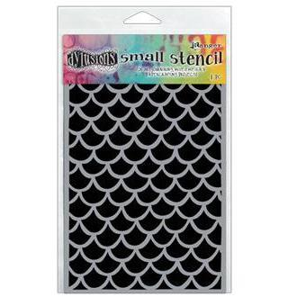 Dylusion Stencil - Fishtails, Small