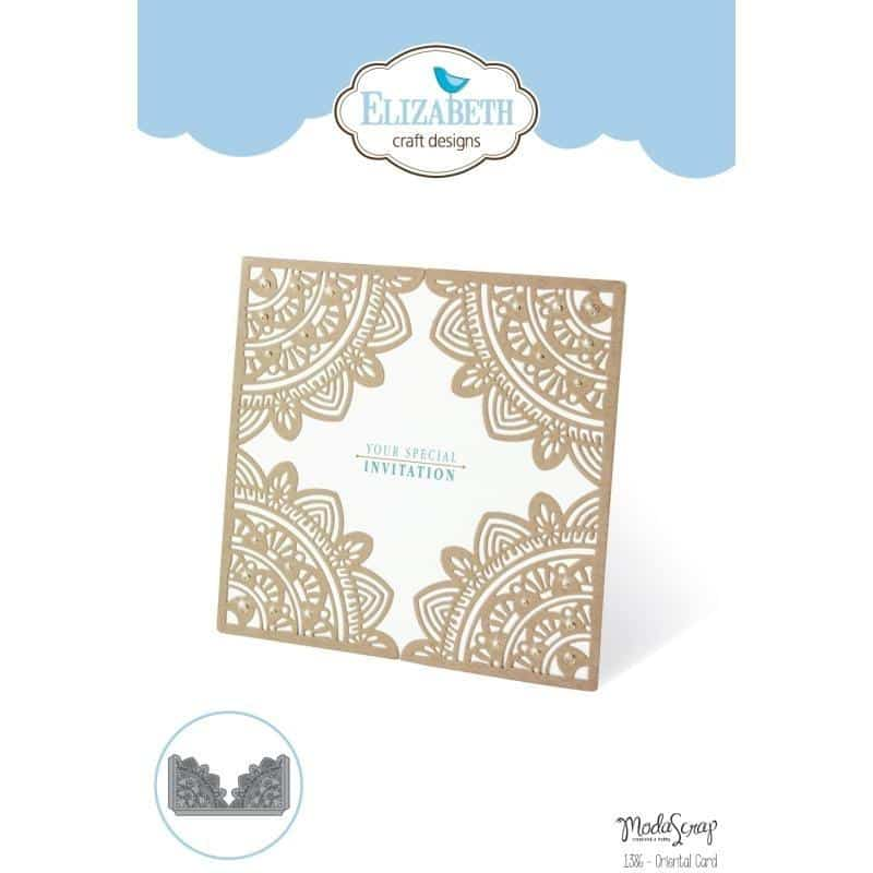 Elizabeth Craft Designs- Oriental Card Die