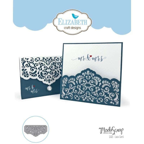 Elizabeth Craft Designs- Lace Card Die