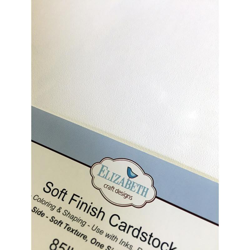 Elizabeth Craft Designs -  Soft Finish Cardstock 8.5 x 11