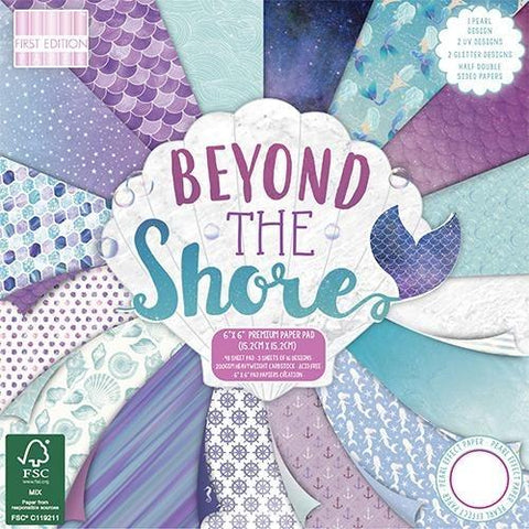 First Edition 6x6 Paper Pad - Beyond the Shore