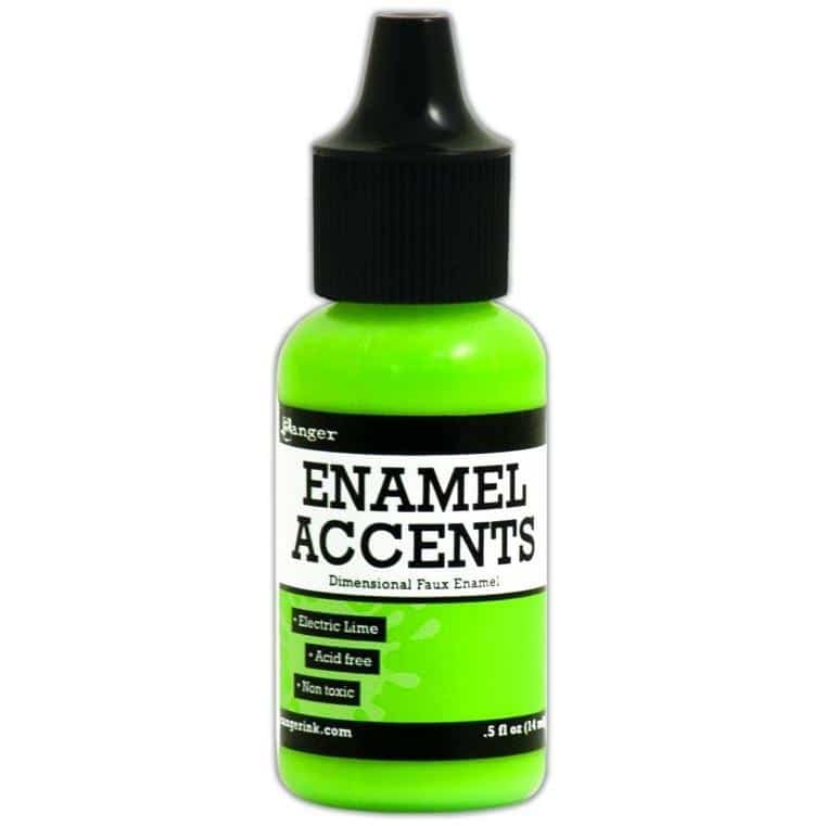 Ranger  Enamel Accents - Electric Lime