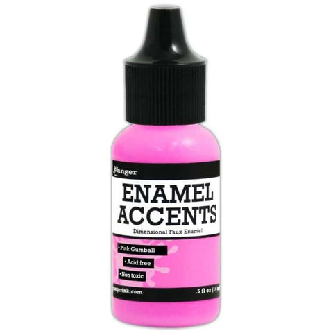 Ranger Enamel Accents - Pink Gumball
