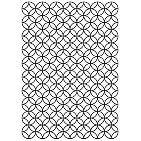 "Kaisercraft 4""x6"" Embossing Folder- Stained Glass"