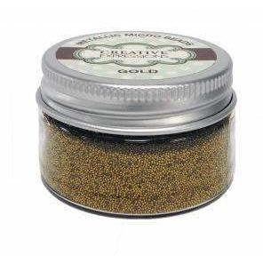 Creative Expressions Micro Beads - Gold 50g