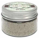 Creative Expressions Micro Beads - Silver 50g