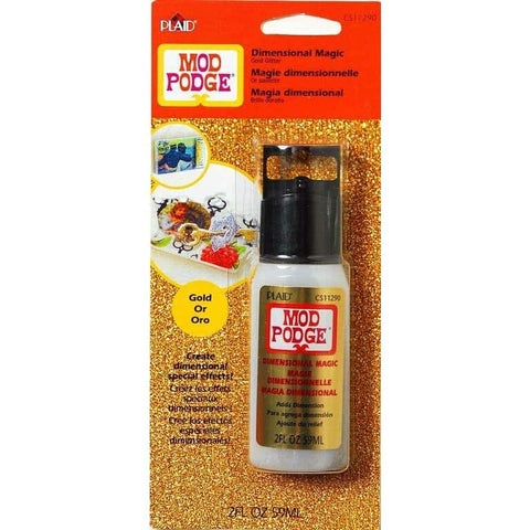 Mod Podge - Dimensional Magic Glitter Gold 2 Oz.