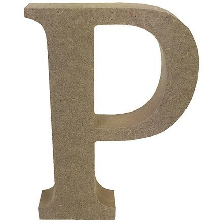 MDF Letter Blank - P