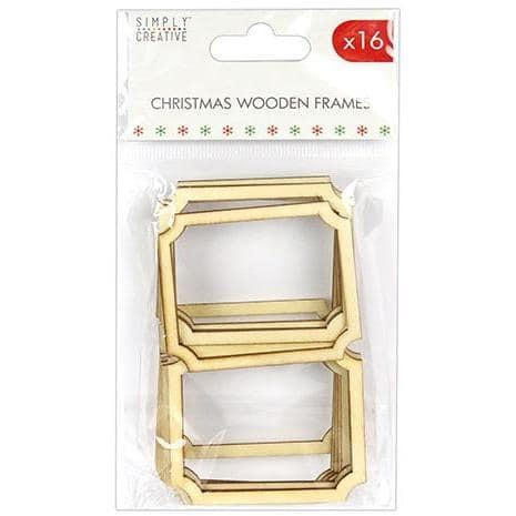 Simply Creative Christmas Basics Wooden Frames