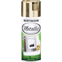 Rustoleum Metallic Spray - Gold
