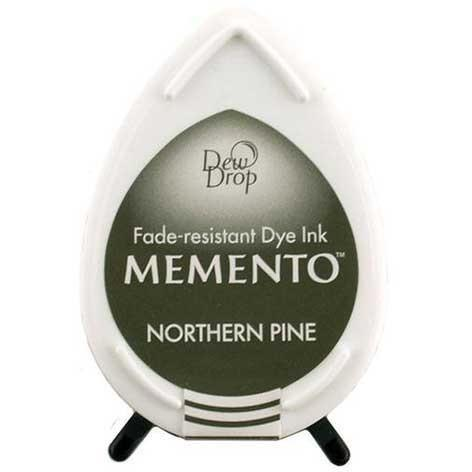 Memento Dew Drop Ink Pad -  Northern Pine