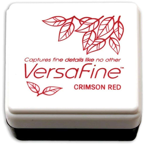 Versafine Small Inkpad - Crimson Red