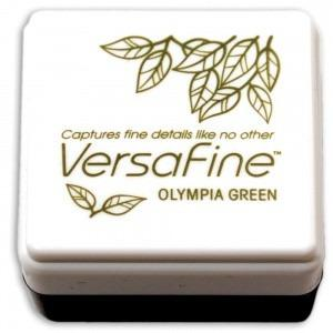 Versafine Small Inkpad - Olympia Green