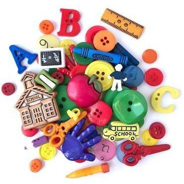 Buttons Galore Value Pack - School
