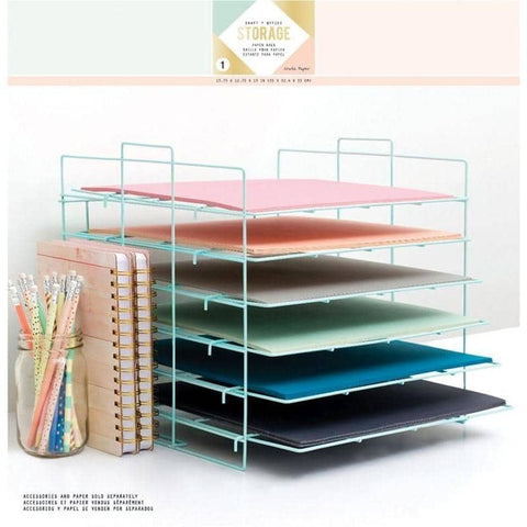 We R Memory Keepers Crate Paper - Desktop Storage - Paper Rack