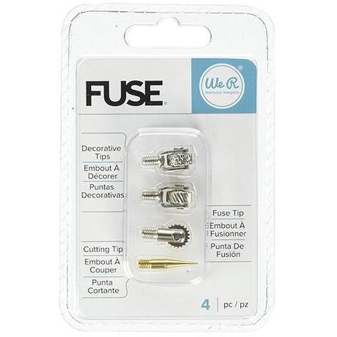 We R Memory Keepers Fuse Tips - Pack of 4