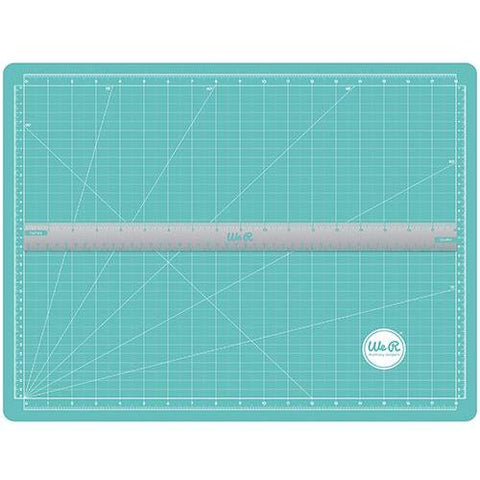 We R Memory Keepers Magnetic Cutting Mat & Magnetic Ruler