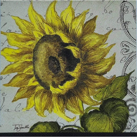 Decoupage Napkin - Sunflowers