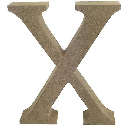 MDF Letter Blank - X