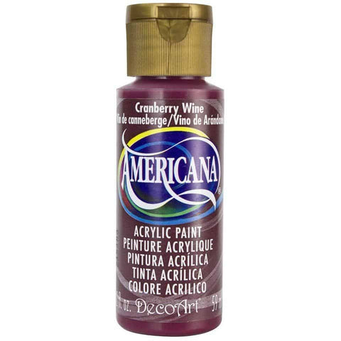 DecoArt Americana Acrylic Paint 2oz - Cranberry Wine