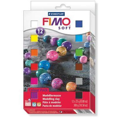 Fimo Soft Set - 12 half Blocks