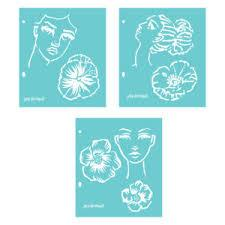 Jane Davenport Artomology Stencils - Flower Girl