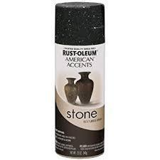 Rustoleum Stone Creation Spray Paint - Black Granite