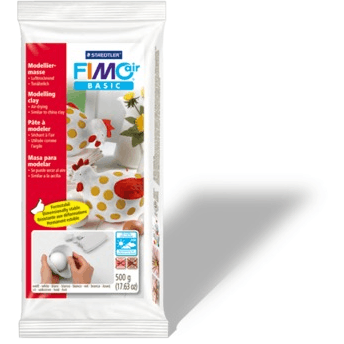 Fimo Air Drying Clay - White 500 gm