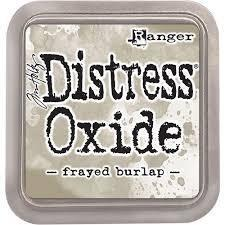 Distress Oxide Ink Pad - Frayed Burlap