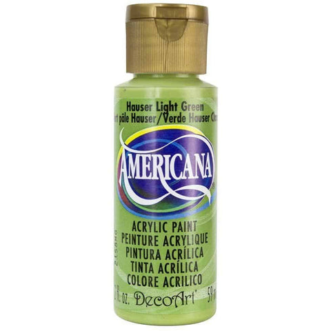 DecoArt Americana Acrylic Paint 2oz - Hauser Light Green