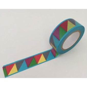 Dovecraft Washi Tape - Color blocked Geometric