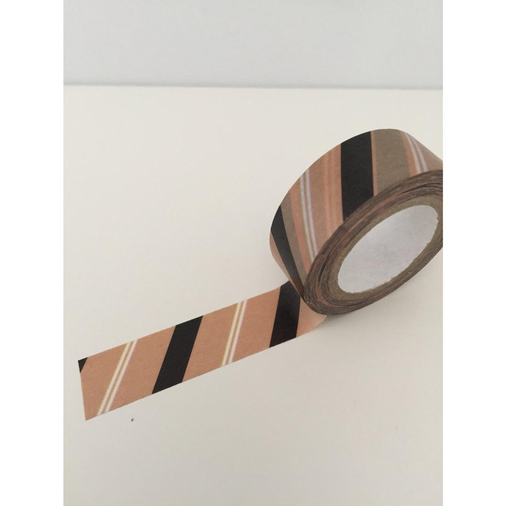 Dovecraft Washi Tape - Kraft Stripes